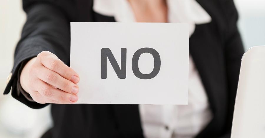 saying no 2